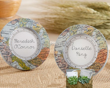 Wedding table decoration Destination Love World Map Mini Photo Frame 100pcs