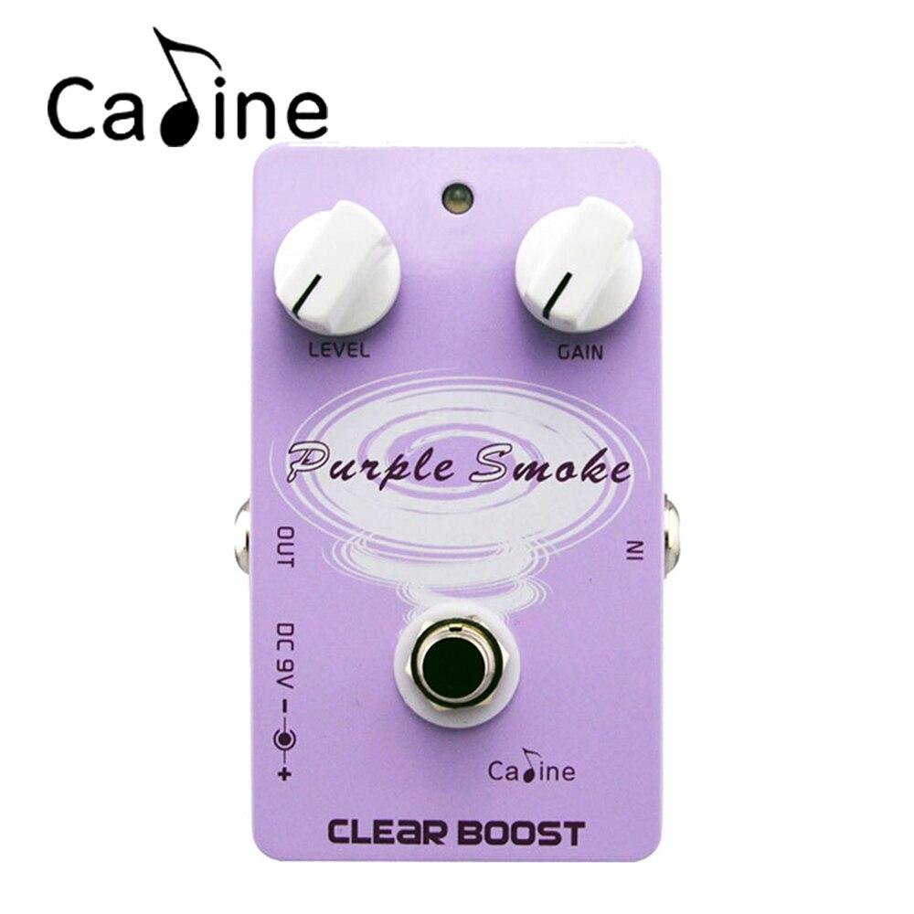 Caline CP-22 Boost Guitar Effects Guitar Pedals Boost EffectsAluminum Alloy Housing Ture Bypass<br>