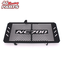 Black Motorcycle Accessories Radiator Guard Protector Grille Grill Cover For HONDA NC700 NC 700 S/X NC700S NC700X 2012-2016