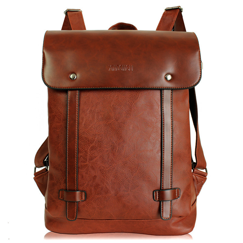 2017 Hot! Women fashion backpack male travel backpack mochilas school mens leather business bag large laptop shopping travel bag<br>