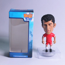 New Arrival Emulation Soccer Football Fashion  Souvenir Collectible Action PVC Figure Toy Doll Novelty Sport Pocket Dolls