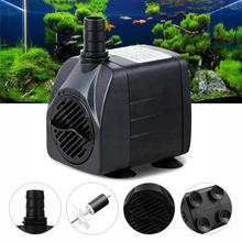 Ultra-quiet 210GPH 800L/H 15W Mini Adjustable Submersible Water Pump Fish Tank Aquarium Powerhead Fountain Pond Pool HOT EH