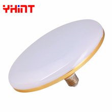 50W high power Energy saving 220V SMD5730 ufo flat led e27 bulbs lamp energy saving tri-proof indoor UFO Umbrella led spotlight(China)