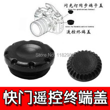 100pcs Camera Shutter Remote Control Flash PC Sync Terminal Cap/Cover For Nikon D700 D200 D1X D2X S3 S5  F5 F100 F90X N90 N90X