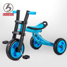BOSO fashion baby tricycle with non-Air EVA wheels, simple baby bike steel frame baby walker triciclo infantil bicicleta