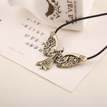 City of Bones Angel Necklace Angelic Forces Power Pendant Inspired Mortal Instruments Sword Angel Shadowhunters Colar For Men(China)