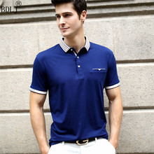 2017 New Polo Shirt Men Short Sleeve Cotton Casual Breathable Shirt Mens Fashion Polos Shirts Homme Men Brand Clothing