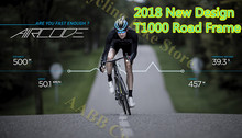 Buy 2018 New Model carbon fiber Disc road bike 700C carbon bicycle frame disk brake road bike frames racing bicycle road wheels for $565.00 in AliExpress store