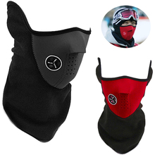 Anti Cold face Mask cap Winter Snowboard Motorcycle Ski training warm hat bike Bicycle Cycling Half Face Neck Mask sports Masks