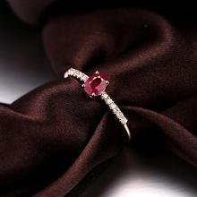 2 carat blood red oval cut ruby ring band rings engagement rings