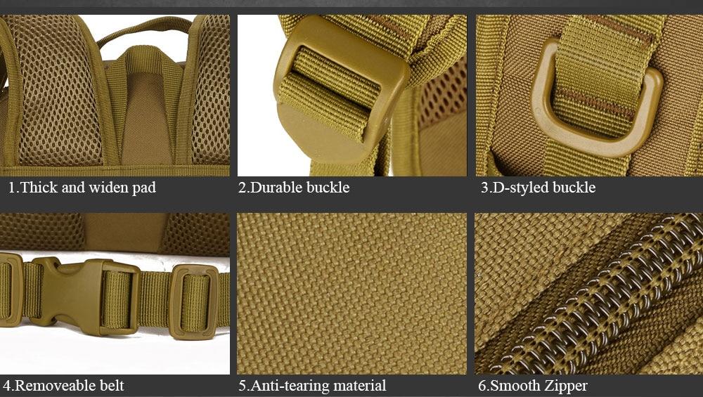 40L SINAIRSOFT Week's Bags 7