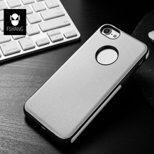 Fshang Business Elegant Imported Leather Case for Iphone 7 7Plus Protective Mobile Phone Case Cover for Iphone 6 6s 6Plus 6sPlus(China)