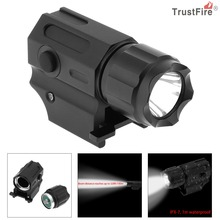 TrustFire Waterproof G03 XP-G R5 LED 210LM Handheld Military Weapon Lights Pistol Torch Light Tactical Flashlight with 2 Modes
