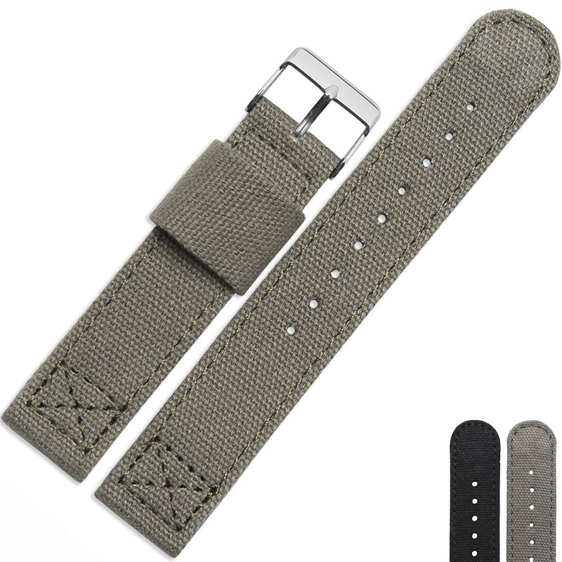 NL12  Luxury  18mm,20mm,22mm Military Army Nylon Fabric Watch Band Suitable For Rolex-Submariner/Citizen/Tissot Wirstwatch <br>