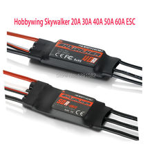 Hobbywing Skywalker 20A 30A 40A 50A 60A ESC Speed Controler With UBEC For RC FPV Quadcopter RC Airplanes Helicopter 1pcs