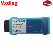VXDIAG VCX NANO for TOYOTA TIS Techstream V10.30.029 Compatible with SAE J2534 WIFI Version