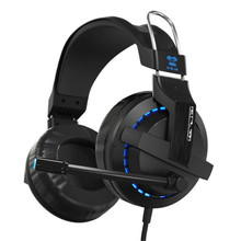 E-3LUE Cobra H937 Blue Light Gaming Headsets Earphone Camputer Razer Game LOL DOTA Headphone with Microphone 3.5mm audio