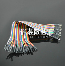Free shipping Dupont line 40pcs 30cm male to female jumper wire Dupont cable breadboard cable jump wire
