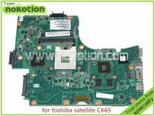 Buy NOKOTION SPS V000225180 toshiba satellite C665 Laptop motherboard Intel HM65 Nvidia GeForce GT315M for $62.56 in AliExpress store