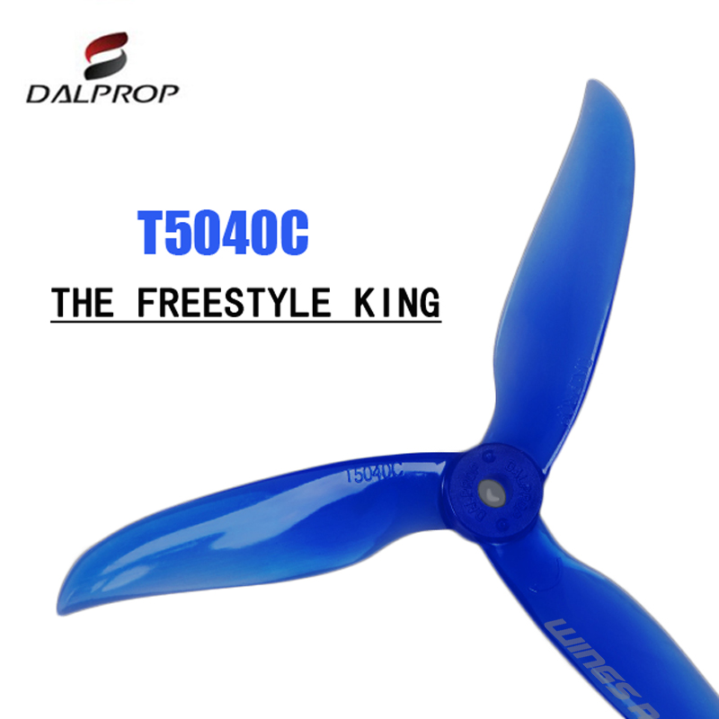 24 pcs / 12 pair DALPROP CYCLONE T5040C T5040V2 5040 3Blade propeller for T-Motor motor FPV Freestyle Drone Quadcopter Chameleon(China)