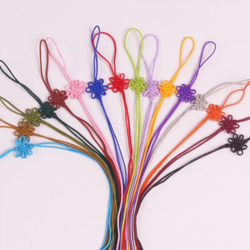 10Pc Mixed Nylon Silky Tassels Pendants DIY Jewelry Wedding Decoration Craft