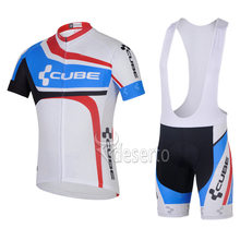 CUBE Pro Bike Ropa Ciclismo Cycling wear Cycling Jerseys Summer Cycling Clothing Breathable Cycle Clothes MTB Bicycle Sports