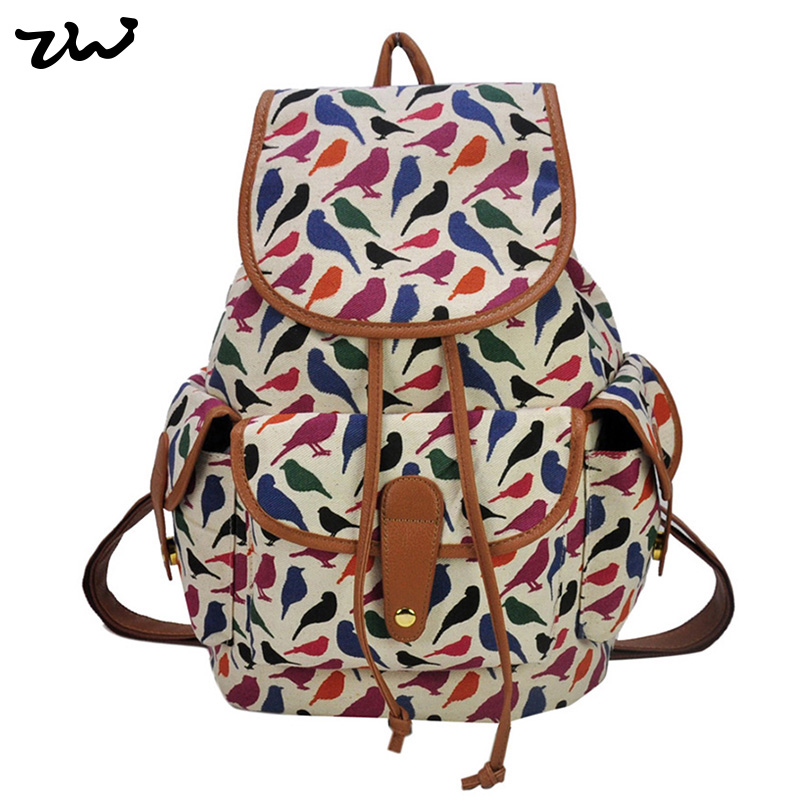 ZIWI Brand New Arrival Animal Print 3 Colors Charming Backpack For Girl School Rucksack Shoulder Bags Promotion QQ1702<br><br>Aliexpress