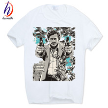 Buy Hecoolba 2017 New Men's Pablo Escobar Print T Shirt Netflix O-Neck Short Sleeves Homme Summer Casual Hipster Swag T-Shirt HCP285 for $6.84 in AliExpress store
