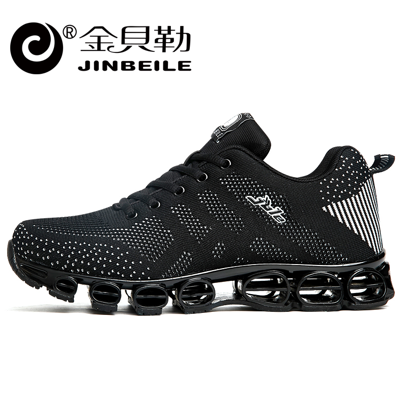 Jinbeile Mens Running Shoes For Men Sports Running Sneakers Breathable Men Athletic Jogging Shoes Zapatillas Deportivas Hombre<br><br>Aliexpress