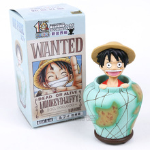 Luffy / Chopper One Piece Anime PVC Figure Piggy Bank Collectible Model Toy 2 Types 15cm