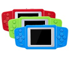Portable Handheld Game Players 8bit Video Game Console Built In 268 Classic Games For Kids Gift Childhood Video Game Console(China)