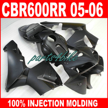 7gifts 100% Injection mold motorcycle parts for HONDA CBR 600 RR 2005 2006 CBR600RR fairings 05 06 matte black body fairing kit