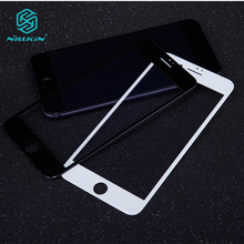 For iphone7 NILLKIN 3D AP+ Pro edge shatterproof fullscreen tempered glass Screen Protector For iphone 7 A1778 A1660