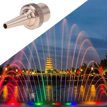 1/2,3/4,1 inch Jet Straight Garden Pond Sprinkler Water Fountain Nozzle Spray Head Brass Fountain Nozzle Head E5M1