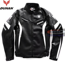 Free shipping 1pcs New Men's PU Leather Jacket Coat Slim fit Biker Motorcycle jacket Hooded with 7pcs pads