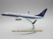 20cm Metal Plane Model Air China Southern Airlines B737 Airplane Model Boeing 737 Airways w Stand Aircraft  Gift