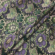 Three dimensional double jacquard brocade, embroidery, spring and autumn high fashion clothing imported fabric