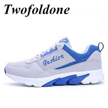 Twofoldone Newest Running shoes for Men Brand Sneakers Sport shoes 2017 athletic shoes zapatillas Mesh breathable Sneaker
