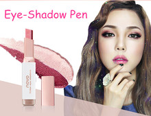 1 pc 2 Colors Eye Shadow Double Color Eye Shadow Gradient Color Velvet Makeup Pearl Eyeshadow Pen