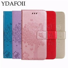 Luxury Leather Wallet Phone Case For iPhone X 5 5C 5S Se 6 6S 7 8 Plus Flip Cover Card Slot Stand Magnetic Fundas For iPhone 4S(China)