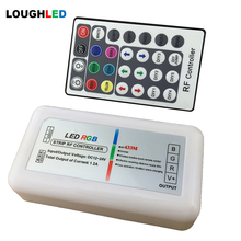 RF 28keys RGB LED Controller with DIY function RF433M DC12V~24V 12A(3*4A) 144W LED Controller for RGB LED Strips and LED Lamps
