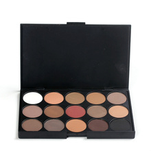 1pcs Wholesale Professional 15 Earth Color Matte Pigment Eyeshadow Palette Brand Makeup Cosmetic Eye Shadow Make Up Palette