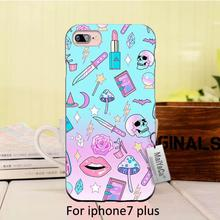 Silicone case Girly Pastel Witch Goth Pattern Top Detailed Popular phone case For case  6 6plus 7 7plus