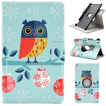 "High Quality Case 360 Rotating for Amazon Kindle Fire 7 2015 7"" 7 inch PU Leather Stand Flip Tablet  Cover Protective case"