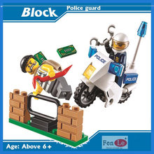 10416 Compatible Lepin City building brick Police Mobile Police Unit building blocks Action Figures Model toys for children