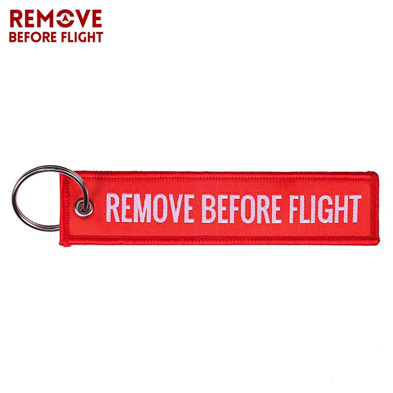 WOVEN REMOVE BEFORE FLIGHT