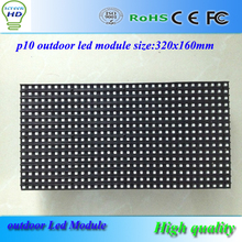 led display 320*160mm 32*16 pixels RGB 3in1 Outdoor full color SMD P10 LED module for led screen led display