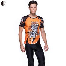 Tiger Perfect Design Mens Boys T shirts Team Uniform Casual  Track Field Compression Tights T-shirts Jersey MT933
