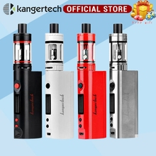 Kanger topbox mini Upgraded Subox Mini Starter kit e electronic cigarette 75W Subox vape Pro Temperature Control Kit(China)