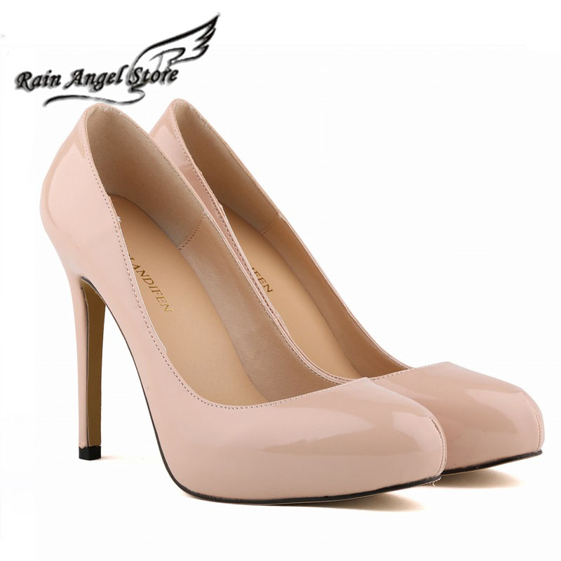 Fashion Style Nightclub Star Models Bridal Shoes Super High Heels Patent Leather Shoes Women Platform Shoes Heels 13 Colors<br><br>Aliexpress